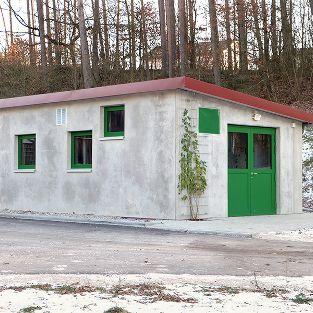 Pumpwerkgebäude für Kläranlage, Röttenbach