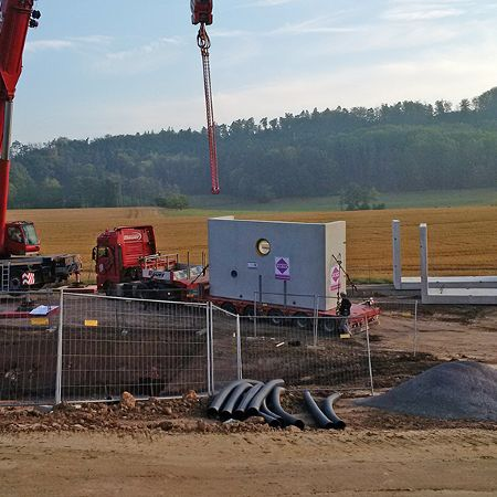 Absetzbecken 180 m³, Schnelldorf