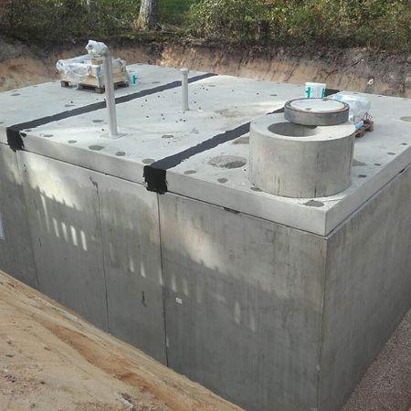Löschwasserbehälter für Kaserne, Roth