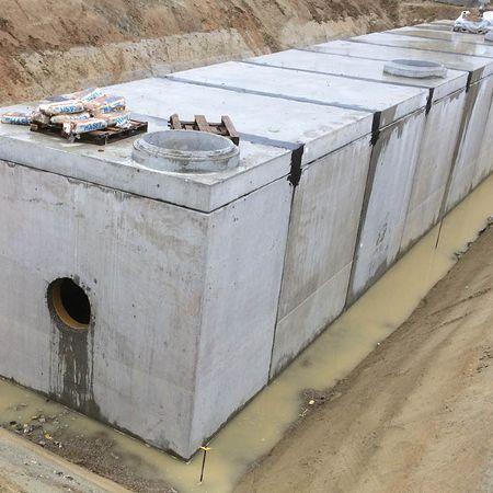 Regenwasserbehandlungsanlagen an der BAB A 94