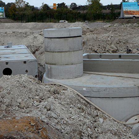 Pumpbauwerk und Löschwasserbehälter, Hannover