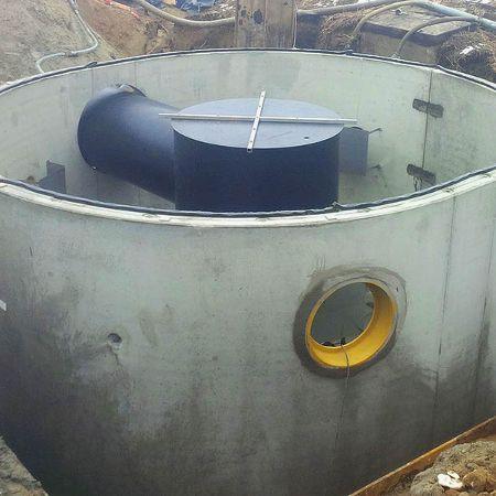 DYWIDAG Sedimentationsanlage, Usedom