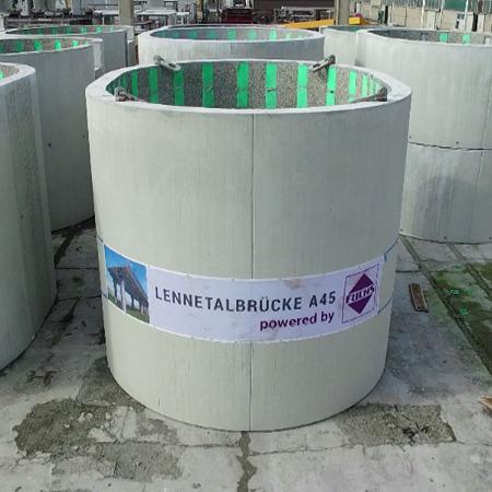 Neubau der Lennetalbrücke, BAB A 45 bei Hagen