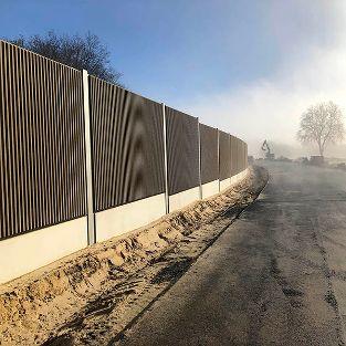 Lärmschutzwände für den Neubau der K17n / Südumgehung, Dülmen