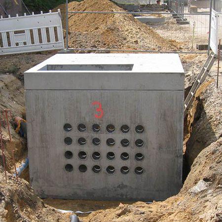 Kabelschächte für Sanierung der Infrastruktur, Braunschweig